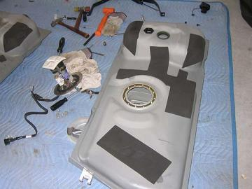 2003-2004 Cobra Tank Swap Gas Tank With Cobra Pump